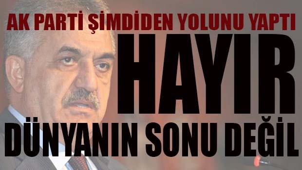 AK Partili Hayati Yazıcı, 'Hayır dünyanın sonu değil'