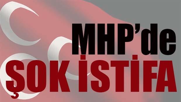 MHP'de ŞOK İSTİFA!