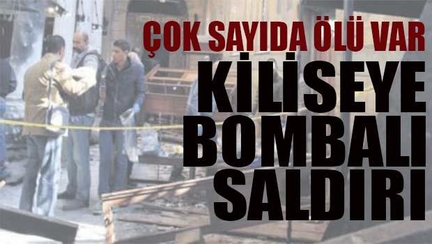 Mısır'da kiliseye bombalı saldırı!