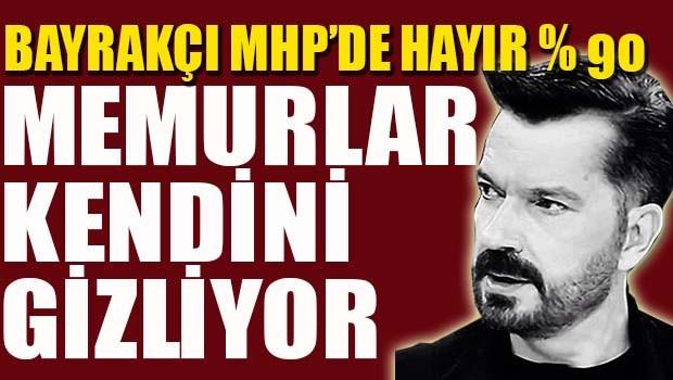 SONAR Başkanı Bayrakçı, 'MHP'de HAYIR yüzde 90'