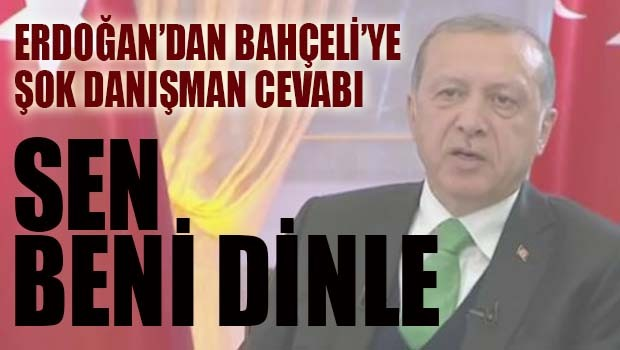 Bahçeli'nin 'eyalet' çıkışına Erdoğan'dan anında cevap geldi