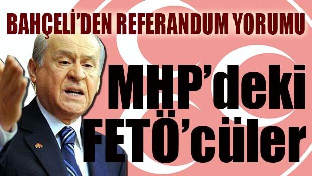Bahçeli'den Referandum açıklaması...
