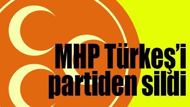 MHP son Türkeş'i de partiden sildi