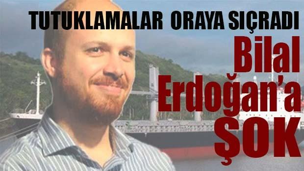 Bilal Erdoğan'a şok!