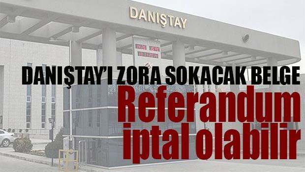 REFERANDUM İPTAL OLABİLİR!