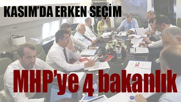 MHP'YE 4 BAKANLIK