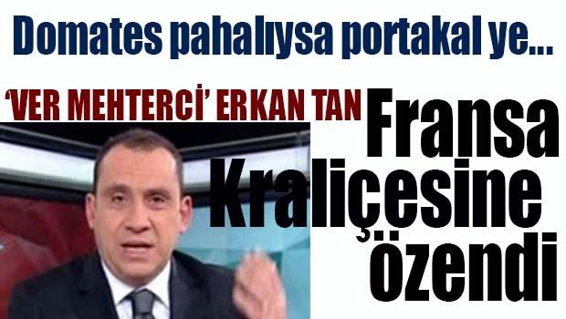 Ver Mehterci Erkan Tan Fransa Kraliçesine özendi!