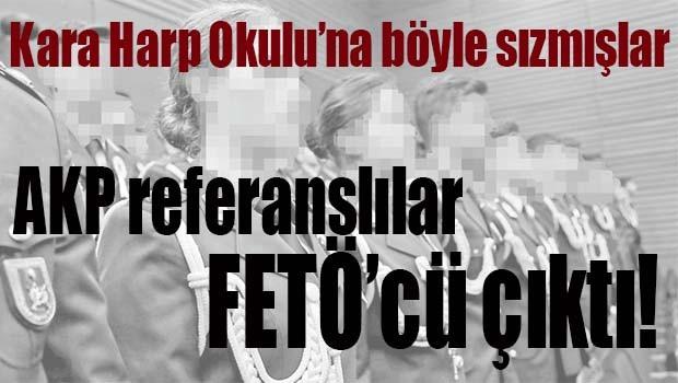 AKP REFERANSLILAR FETÖCÜ ÇIKTI!