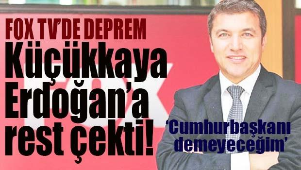 Küçükkaya Erdoğan'a rest çekti!