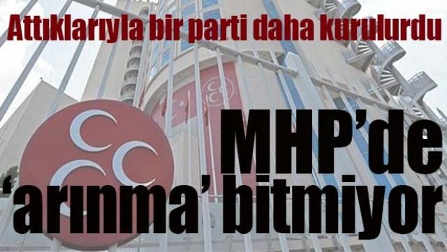 MHP'DE 'ARINMA' BİTMİYOR!