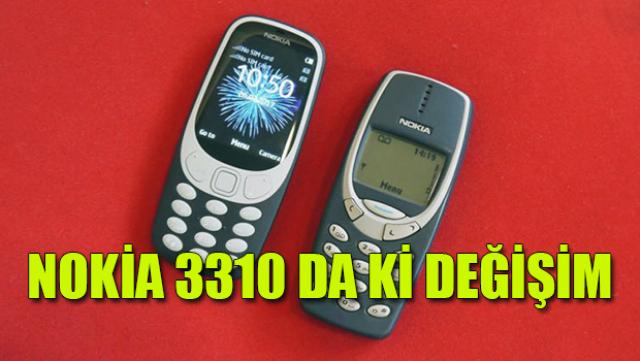Nokia 3310 da neler değişti