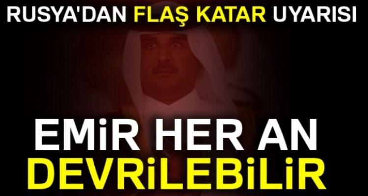 Rus medyası: Katar Emiri her an devrilebilir