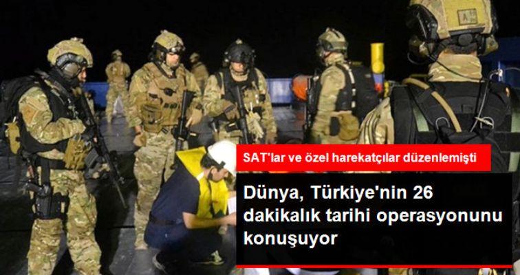 Dünya Türkiye'nin Uyuşturucu Operasyonunu Konuşuyor