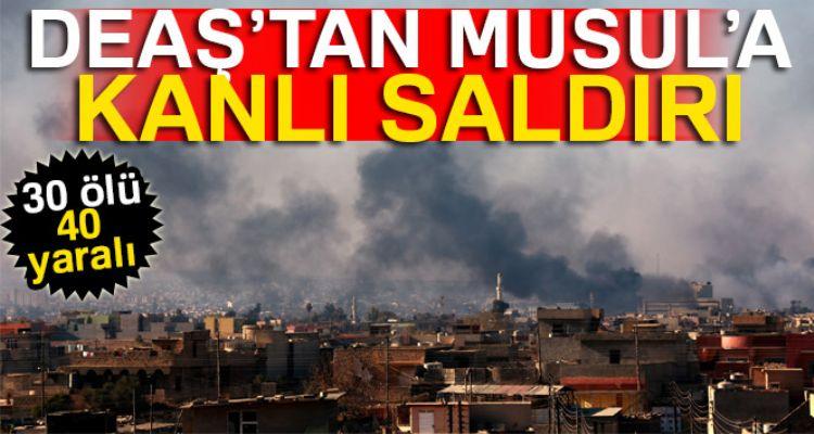 Musul'da DEAŞ saldırısı: 30 ölü, 40 yaralı