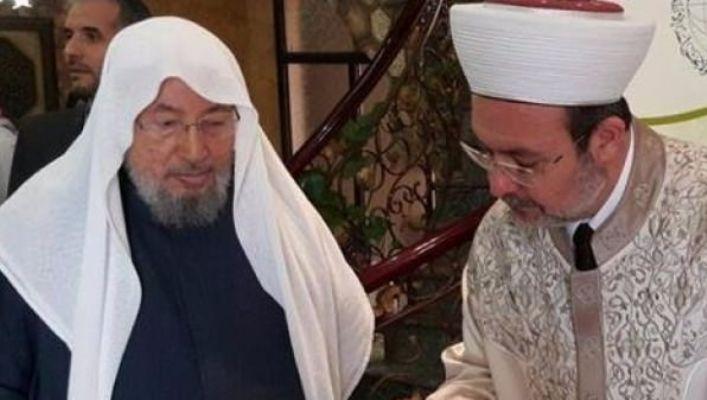 Dünyanın terörist ilan ettiği isme Mehmet Görmez sahip çıktı