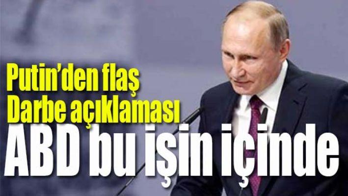 PUTİN'DEN FLAŞ 'DARBE' AÇIKLAMASI
