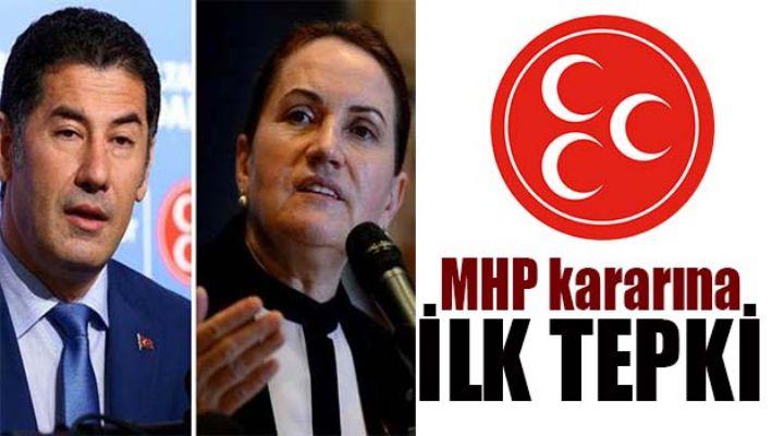 MHP KARARINA İLK TEPKİLER