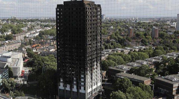 Londra'daki yangına sebep olan buzdolabının markası açıklandı