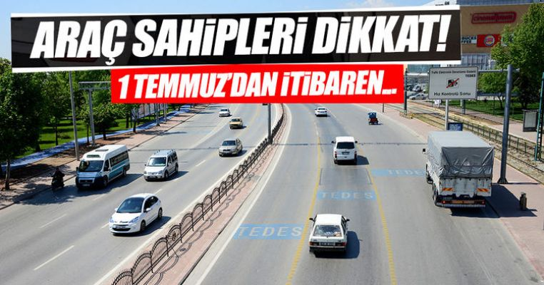 Araç sahipleri dikkat! Hız koridoru devreye giriyor