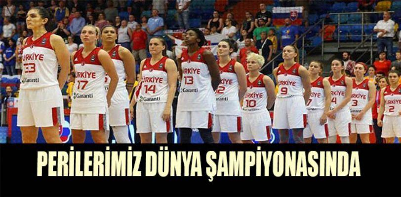 A Milli Kadın Basketbol Takımı 2018 Dünya Şampiyonası'na katılmaya hak hazandı.