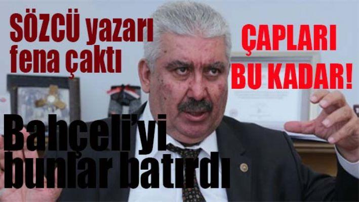SÖZCÜ yazarı MHP'li Yalçın'a fena çaktı!