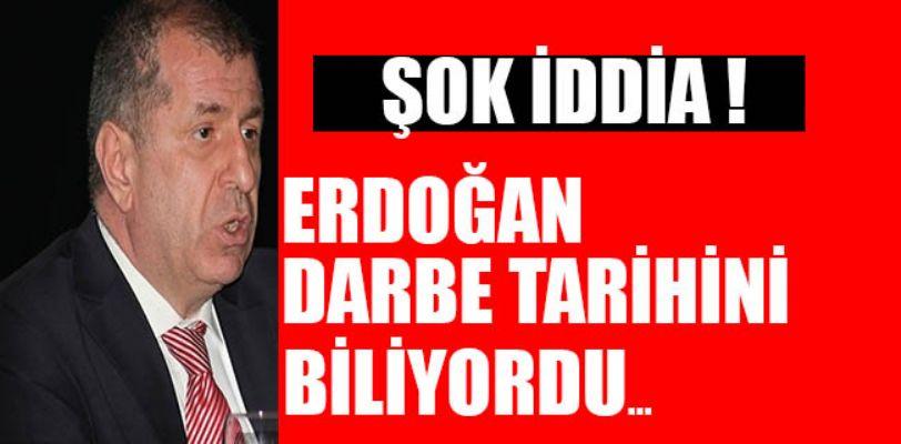 Şok iddia: Erdoğan darbe tarihini biliyordu