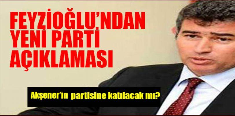 Metin Feyzioğlu'ndan yeni parti açıklaması