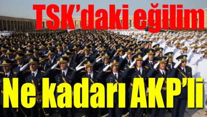 Askerlerimizin ne kadarı AK Partili