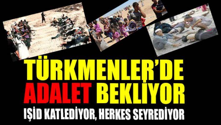 Türkmenlerin kurtarılması için güvenlik koridoru açılması çağrısında bulunuldu