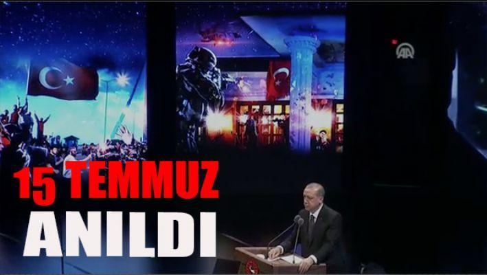 15 Temmuz Beştepe'de anıldı