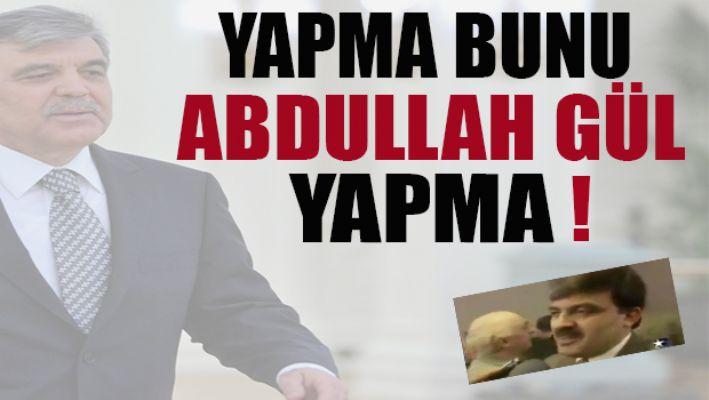 Ahmet Hakan Abdullah Güle tavsiyede bulundu