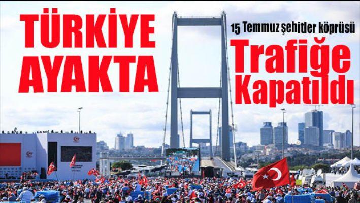 Türkiye Fetö'ye karşı ayakta