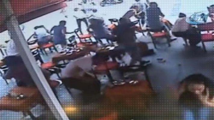 Kafe'ye silahlı baskın şoku!