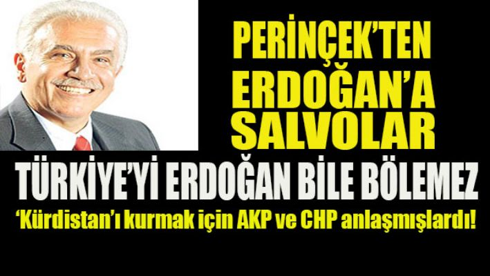Perinçek'ten Erdoğan'a salvolar!