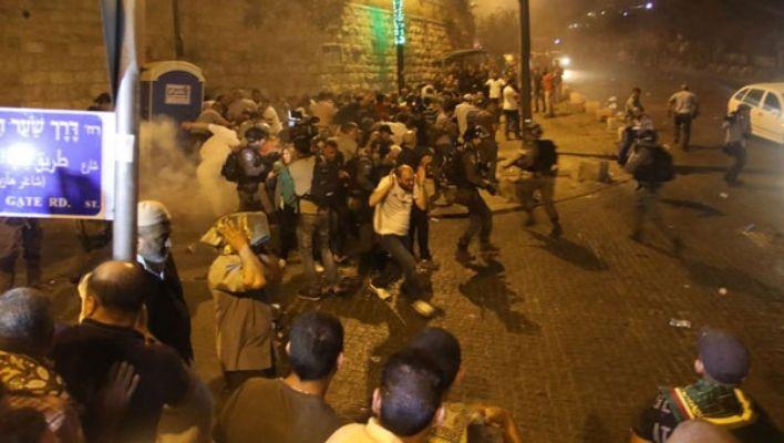 İsrail'den Filistinlilere saldırı: Ölü ve yaralı var