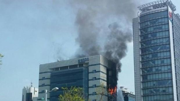 Samsung'un veri merkezi yandı!