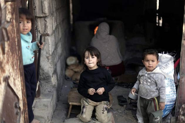 Baraka'da acı HAYAT