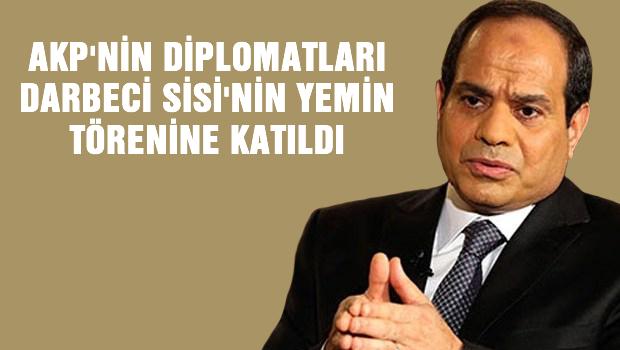 Bülent Arınç: Türk diplomat Sisi'nin yemin törenine katıldı